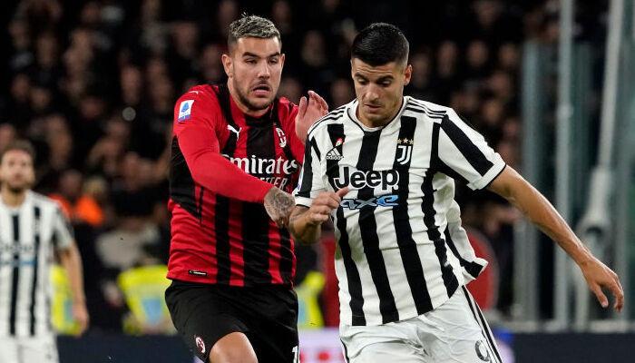 Милан и Ювентус расписали ничью в Турине