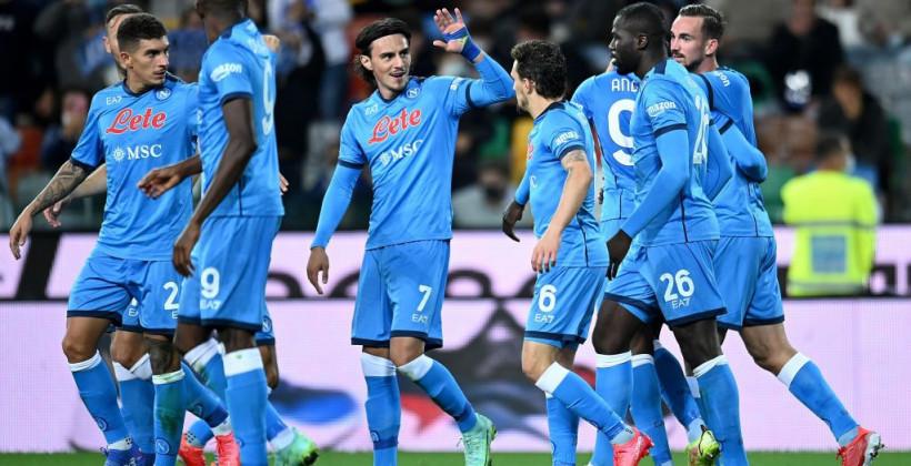Наполи потерпел первое поражение за восемь матчей