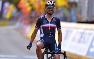Жюлиан Алафилипп выиграл групповую шоссейную велогонку чемпионата мира