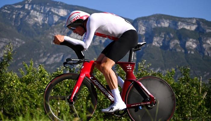 Кюнг выиграл чемпионат Европы в раздельной велогонке