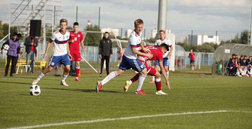Сборная Беларуси U-19 минимально уступила России U-18 в товарищеском матче