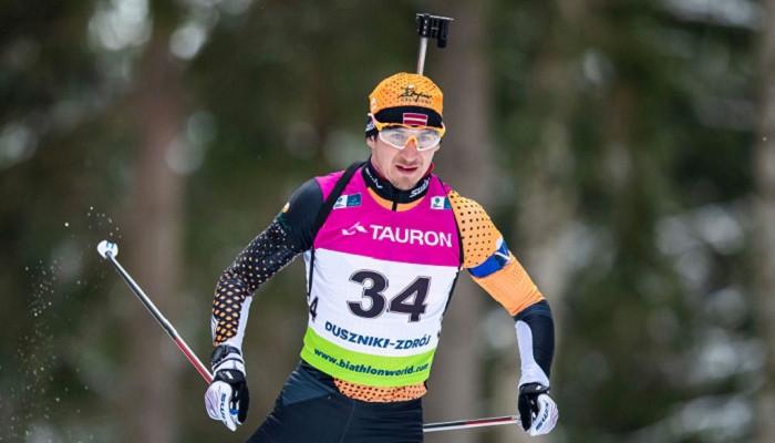 Биатлонист сборной Латвии Расторгуевс дисквалифицирован на 18 месяцев