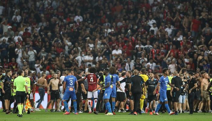 Матч между Ниццей и Марселем будет переигран 27 октября