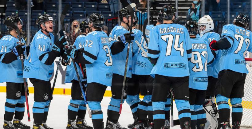 Сразу пять хоккеистов минского Динамо отправлены в фарм-клубы