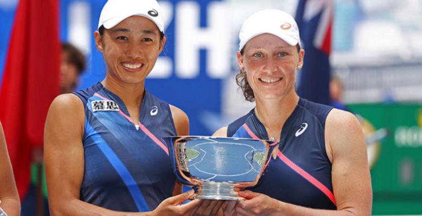 Саманта Стосур и Чжан Шуай стали чемпионками US Open в парном разряде