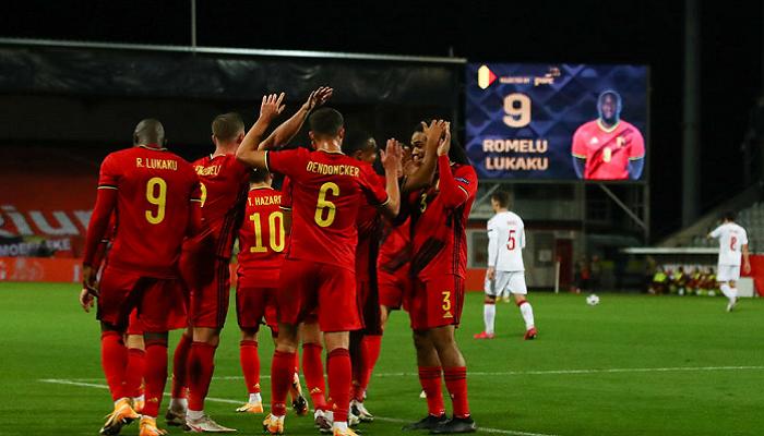 Бельгия не оставила шансов Эстонии и закрепилась на первом месте в группе Е