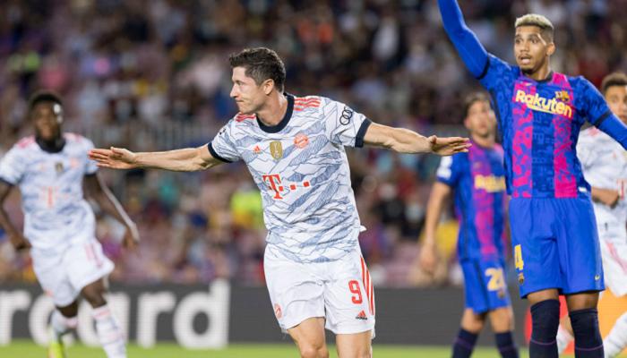 Бавария на Камп Ноу забила три безответных мяча Барселоне