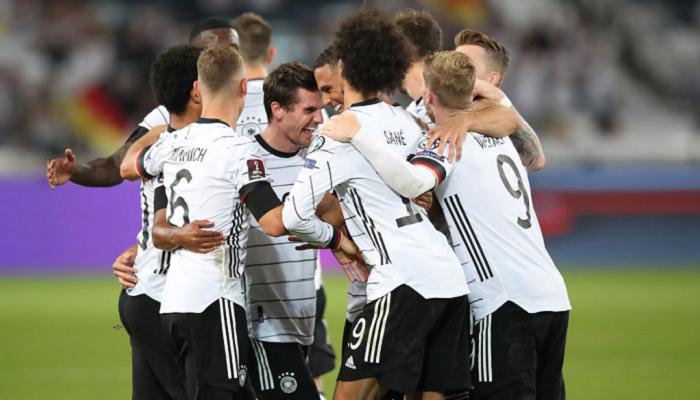 Германия разгромила Армению в домашнем матче отбора на ЧМ-2022