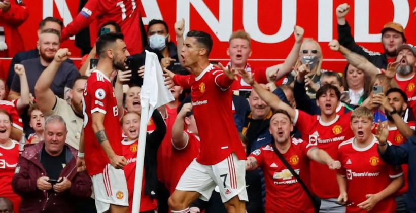 Манчестер Юнайтед на Олд Траффорд разгромил Ньюкасл. На счету Роналду дубль