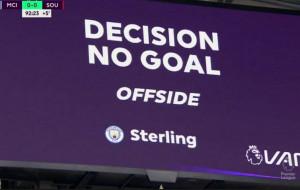 Манчестер Сити не сумел забить Саутгемптону и ухудшил шансы на попадание в топ-4 АПЛ