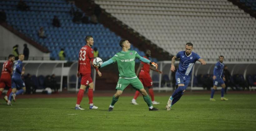 Витебск на домашнем поле добыл волевую победу над Минском