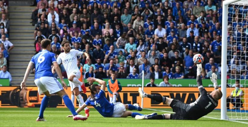 Манчестер Сити в гостях минимально обыграл Лестер