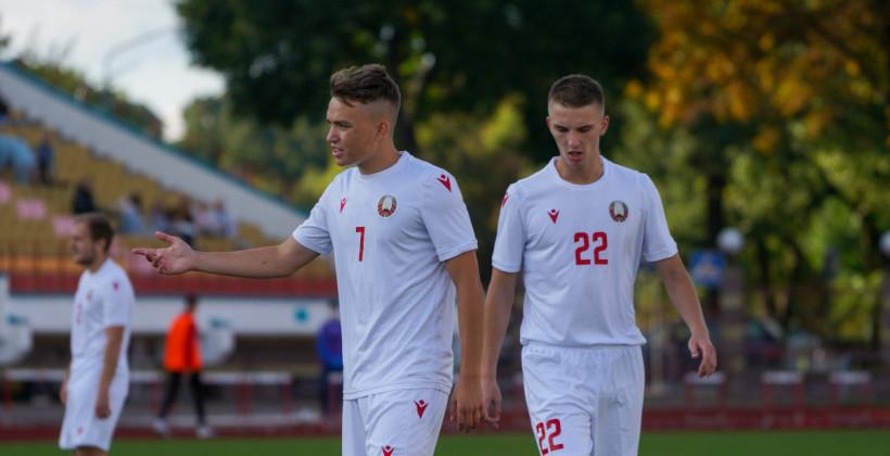 Молодежная сборная Беларуси минимально уступила сверстникам из Португалии в отборе на ЧЕ-2023