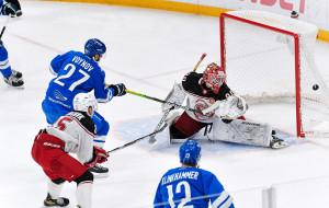 Иван Кульбаков совершил 45 сейвов, Андрей Белевич набрал 1+1 в матче против Нефтехимика и остальные матчи КХЛ