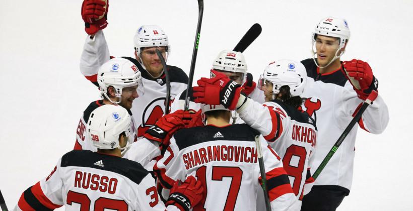 Наши в НХЛ. Белорусы готовятся к стартующему сезону