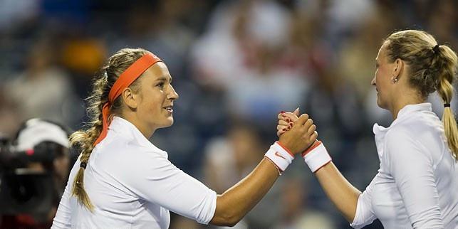 Виктория Азаренко и Александра Саснович сыграют друг против друга в 1/8 финала турнира в Индиан-Уэллсе
