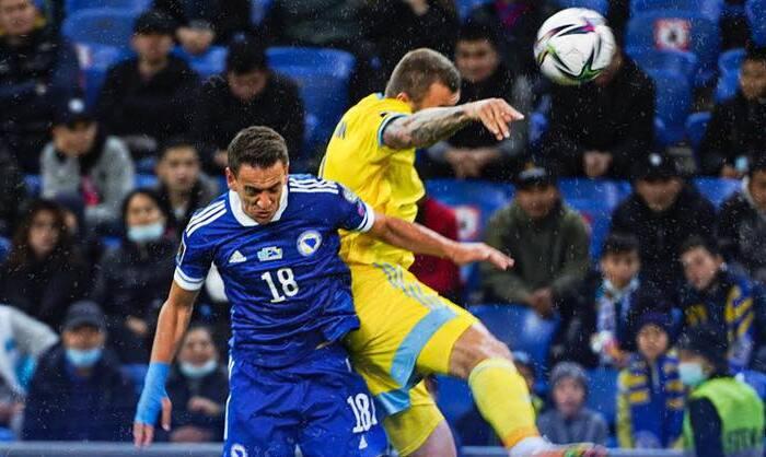 Босния и Герцеговина в гостях смогла обыграть Казахстан