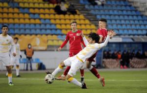 Юношеская сборная Беларуси обыграла сверстников из Армении в квалификации ЧЕ-2022