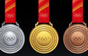 Представлен дизайн медалей зимних Олимпийских игр в Пекине