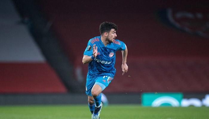 Полузащитник Олимпиакоса Масурас признан игроком недели в Лиге Европы