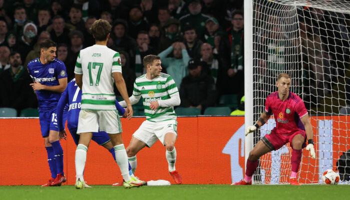 Байер забил четыре безответных гола Селтику