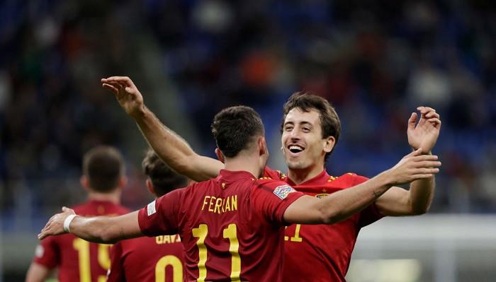 Сборная Испании переиграла команду Италии в полуфинале Лиги наций