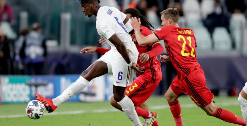 Франция в концовке вырвала победу у Бельгии и вышла в финал Лиги наций