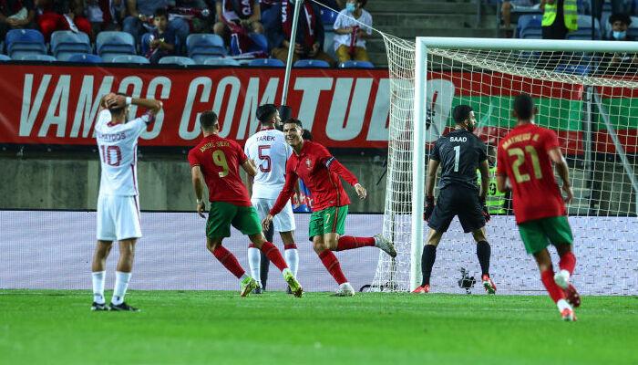 Сборная Португалии переиграла команду Катара в товарищеской встрече