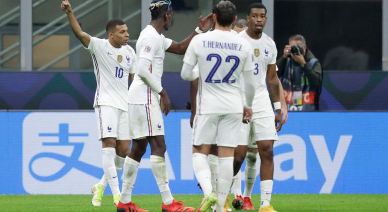 Сборная Франции стала победителем розыгрыша Лиги наций