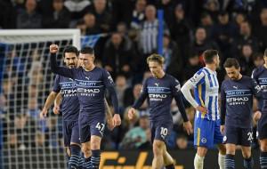 Манчестер Сити крупно обыграл Брайтон и поднялся на второе место в АПЛ