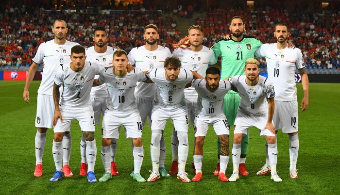 Стала известна заявка сборной Италии на матчи Лиги наций