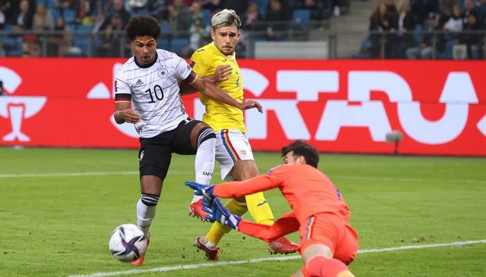 Германия не без труда дожала Румынию в отборе ЧМ-2022