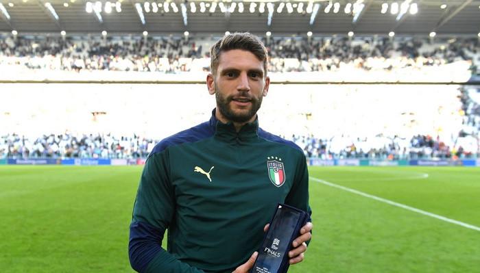 Доменико Берарди назван лучшим игроком матча Италия — Бельгия