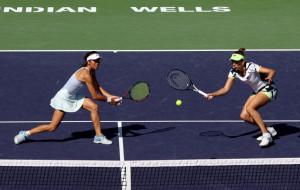 Элиса Мертенс и Се Шувэй стали победительницами турнира в Индиан-Уэллсе в парном разряде