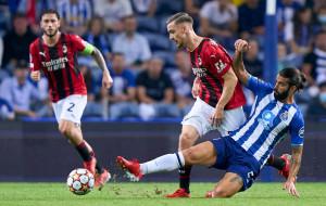 Милан на выезде минимально уступил Порту
