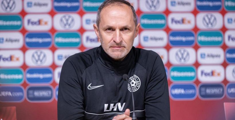 Томас Хэберли: «Если хотим занять в группе более высокое место, то, несомненно, должны обыгрывать Беларусь»