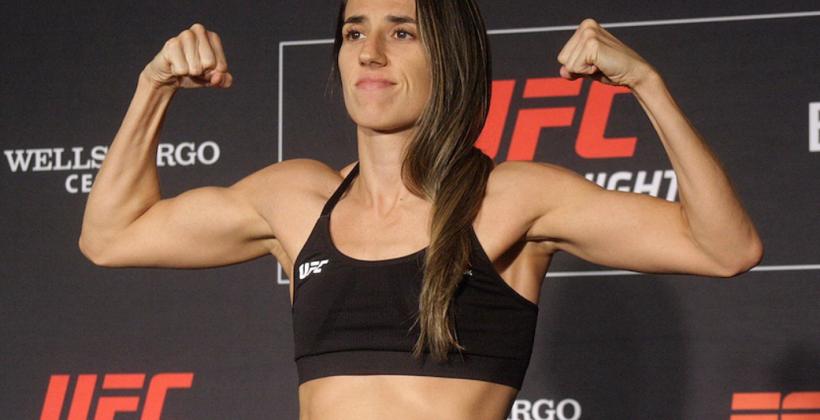 Маккензи Дерн уступила Марине Родригес UFC Fight Night 194