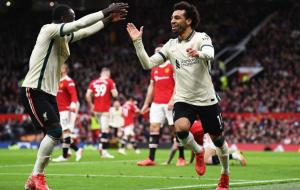 Манчестер Юнайтед крупно уступил Ливерпулю