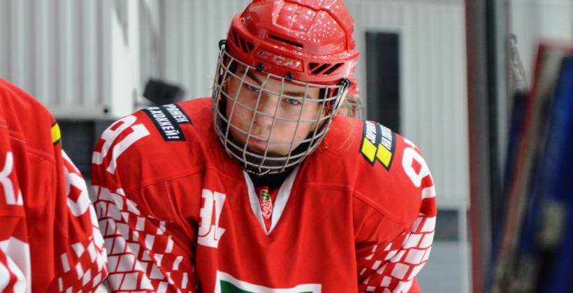 Даниил Боурош забил свою дебютную шайбу в QMJHL