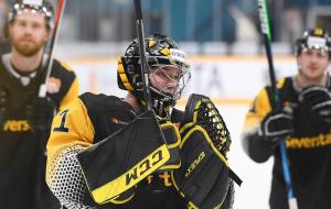 Константин Шостак попал в топ-5 голкиперов КХЛ по количеству отражённых бросков