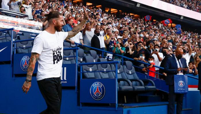 Рамос близок к дебюту за ПСЖ в матче против Анже