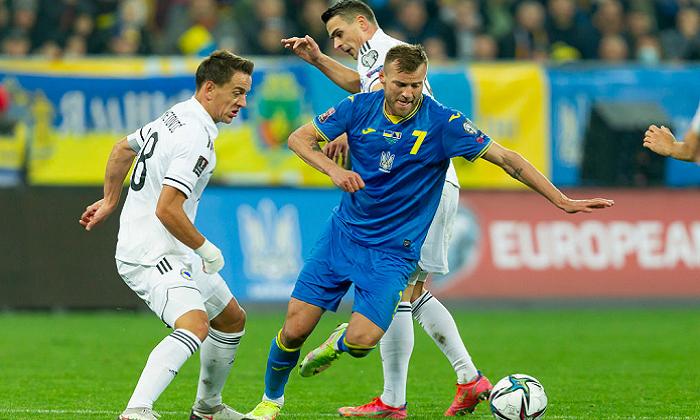 Украина дома не сумела обыграть Боснию и Герцеговину в отборе на ЧМ-2022