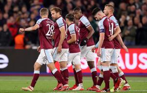 Вест Хэм не оставил шансов Генку в Лиге Европы