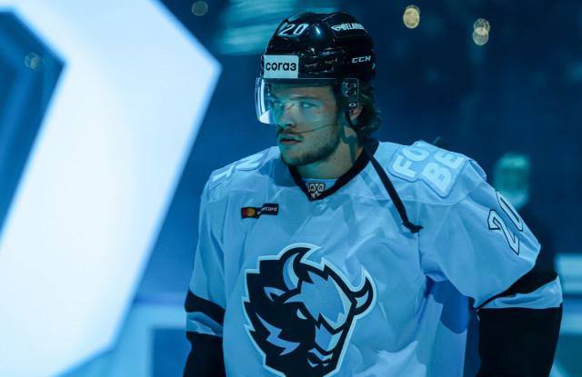 Мальте Стрёмвалль: «Моя цель — стать одним из лидеров Динамо, быть примером на льду»